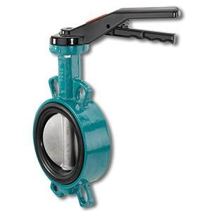 Manually operated butterfly valve GEMÜ 487 Victoria - The GEMÜ 487 Victoria soft seated butterfly valve is manually operated.