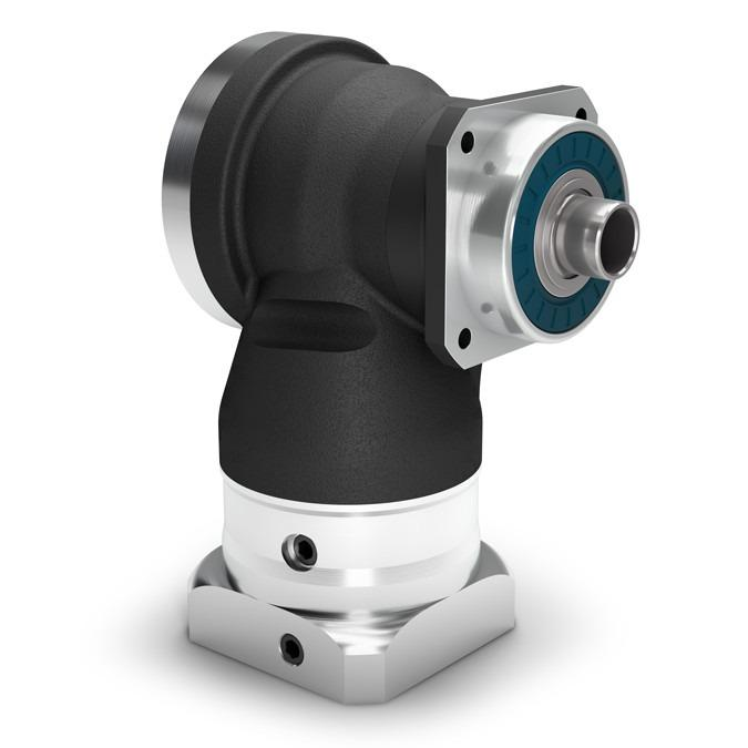 Winkelgetriebe mit Hohlwelle WGN - Präzisionsgetriebe - Hypoidverzahnte Winkelstufe - IP65 - NEUGART