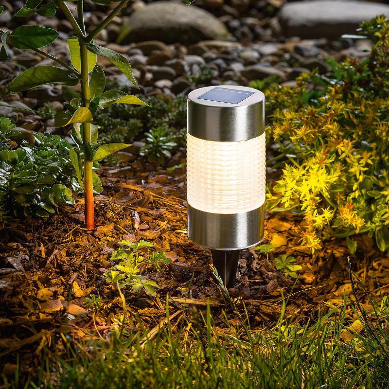 Élégant luminaire solaire LED Puc Light - Lampes solaires décoratives
