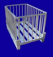 klappbare Gitterbox - Hurtz Aluminiumgitterboxen