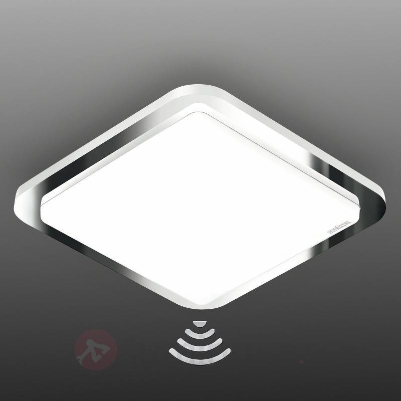 Cadre chromé - plafonnier à capteur RS LED D1 - Plafonniers avec détecteur