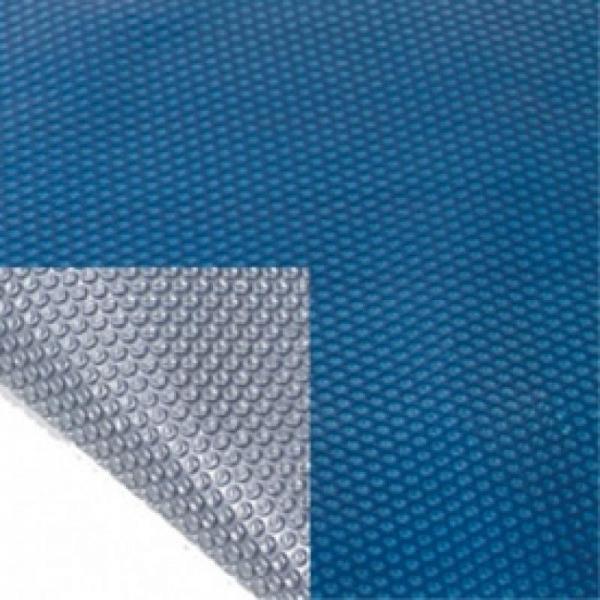 Couverture à bulles finition eco alu pour piscine rectangulaire - ecoalu7x3.5
