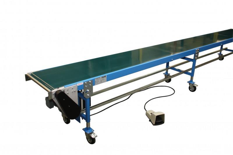 Gleitbandförderer für Gewichte bis 30 kg/m GF30.