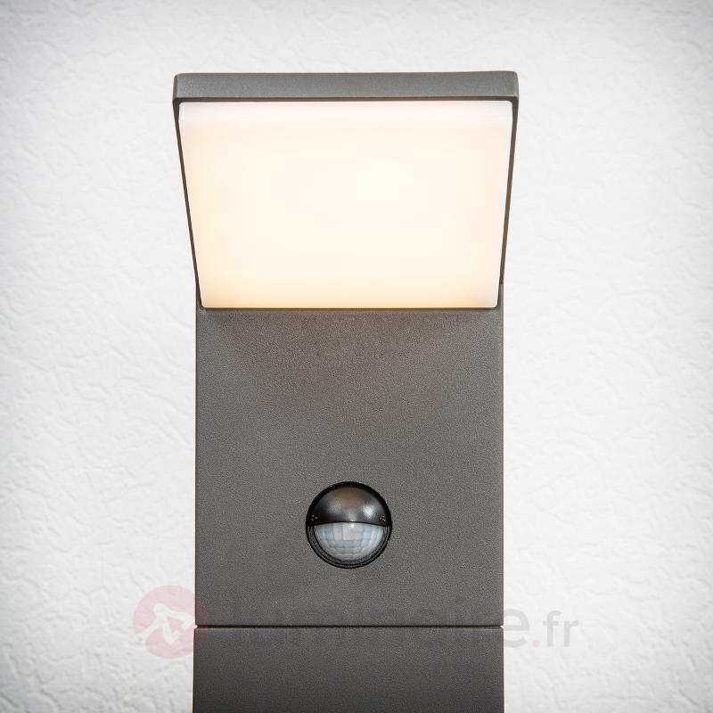 Borne lumineuse LED Nevio à détecteur de mouvement - Bornes lumineuses avec détecteur