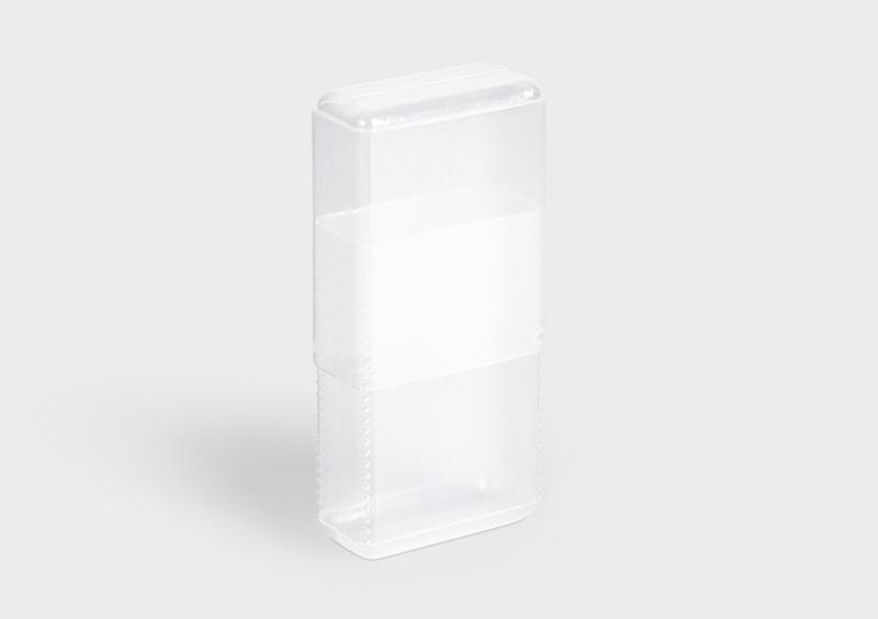 RectangularPack - Tube en plastique
