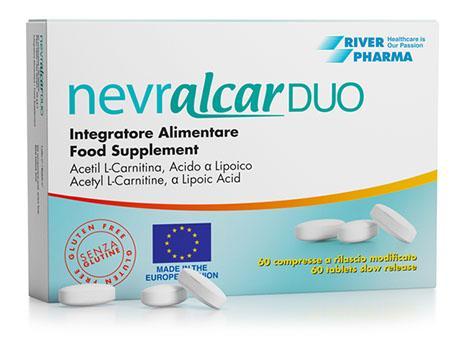 NEVRALCAR DUO - Against Diabetic Neuropathies - Post-Herpetic Neuropathies - Carpal Tunnel