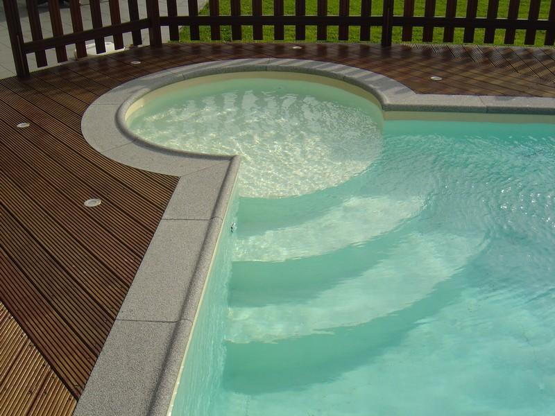 Margelles de piscine am nagement ext rieur bruch patrick for Amenagement exterieur belgique