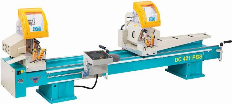 DC 421 PBS - DOUBLE HEAD MITRE SAW MACHINE (FULL AUTOMATIC)