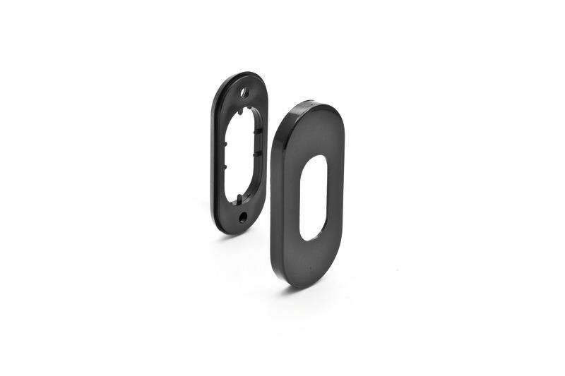 Borchia ovale per cilindro ovale - Maniglie e maniglioni
