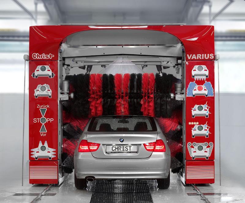 Car-Wash - Portique de lavage Christ Varius - Lavage individuel d'automobile