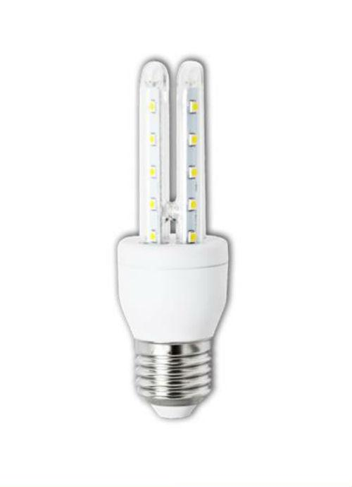 Lampadine LED E27 T3 - 4/6W trasparente 3000/6400K 300/320/450/480lm