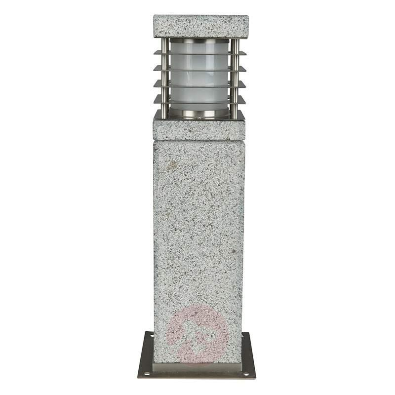 Made of genuine granite - pillar light La Mer - Pillar Lights