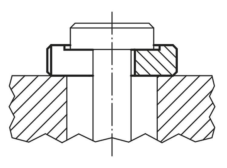 Rondelle amovible DIN 6372 extension de gamme - Accessoires