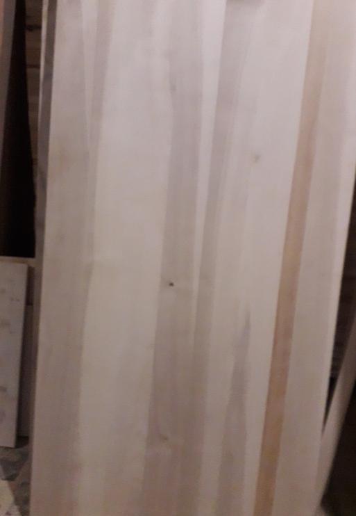 Цельноламельный мебельный щит - мебельный щит, сосновый щит, щит белый тополь