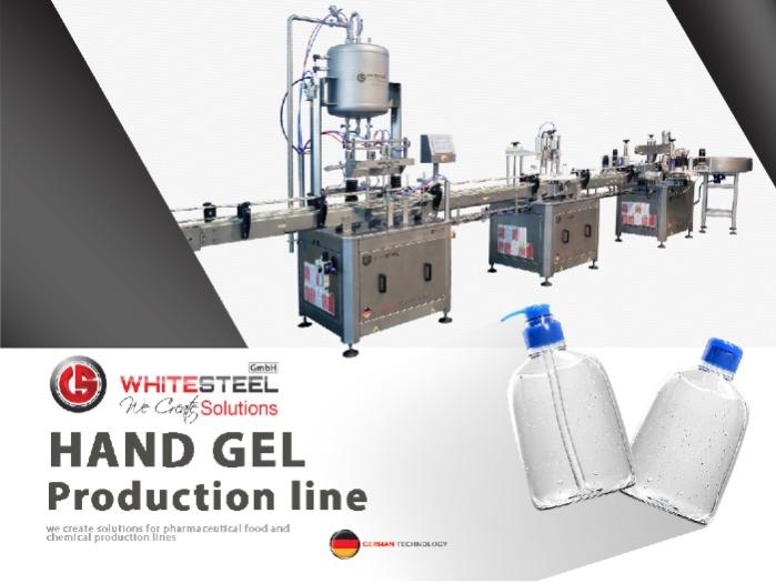 Hand Gel Filling Machine  - Hand Gel Bottles Filling capping and labeling machine