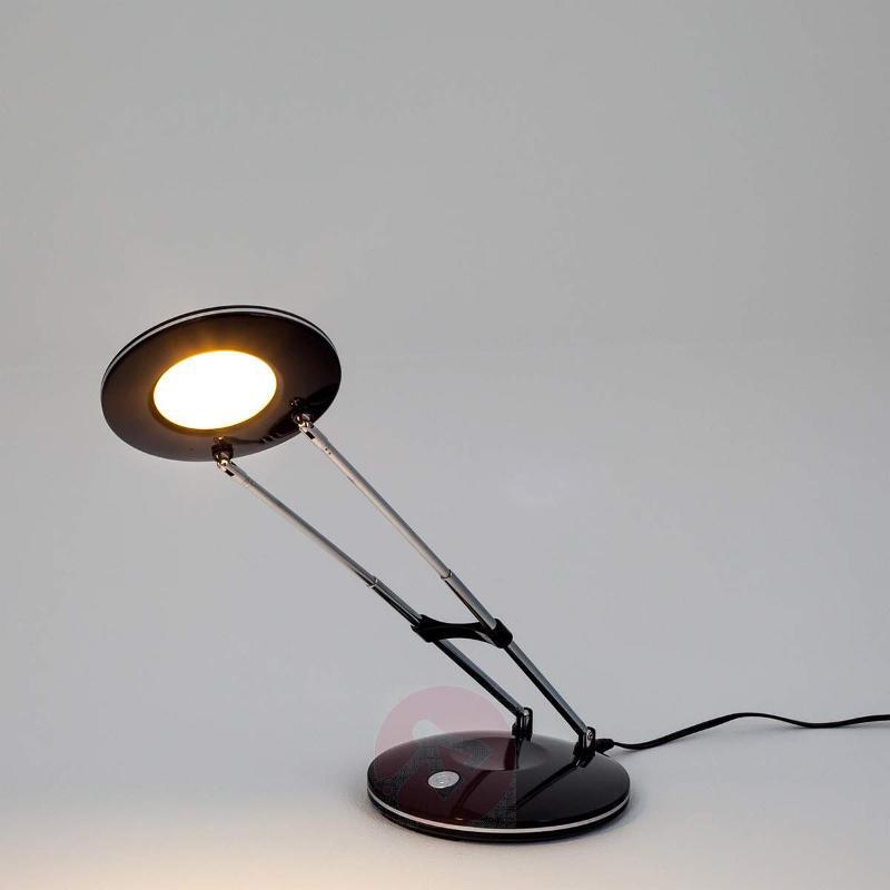 Almina Classical Modern LED Desk Lamp, Black - Table Lamps