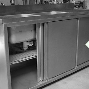 Armoire / Cabine - Construction métallique
