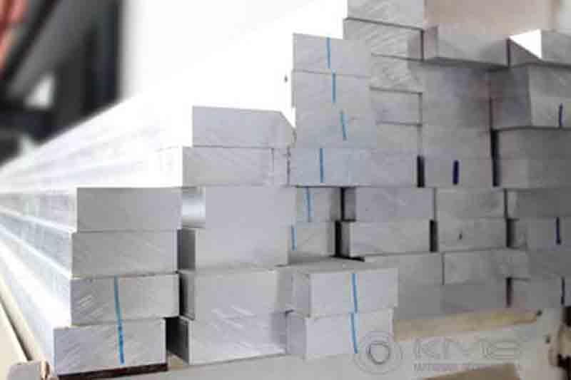 Barras Retangulares de Alumínio -