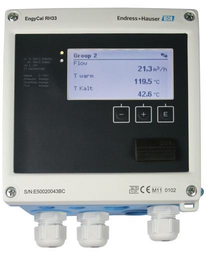 EngyCal RH33 Calculateur d'énergie - Produits système et data managers EngyCal RH33 Calculateur d'énergie
