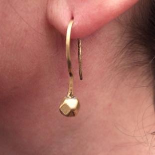 Boucles d'oreilles - Or 24ct, Inde