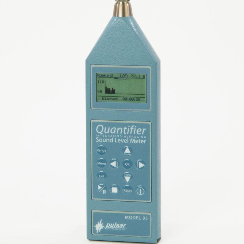 Sound Level Meters - Quantifier sound level meter Models 95 & 96