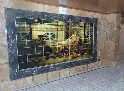 Custom Printed Ceramic Tiles - Unlimited Image Choices - Special Protection