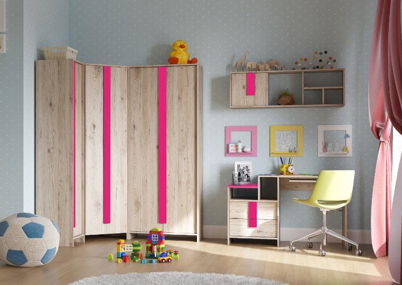 "Children'S ""Scout"" Fuchsia - Children's room furniture"