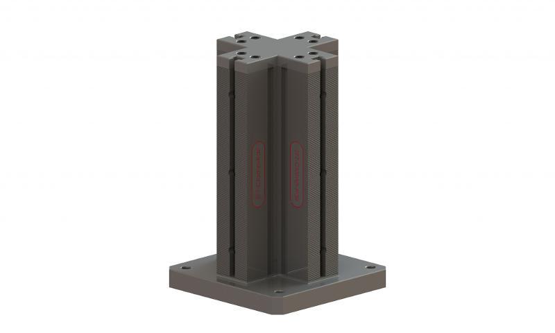 Spannturm, Schienenlänge 400 mm - null