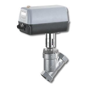GEMÜ 548 - Válvula globo de assento angular motorizada