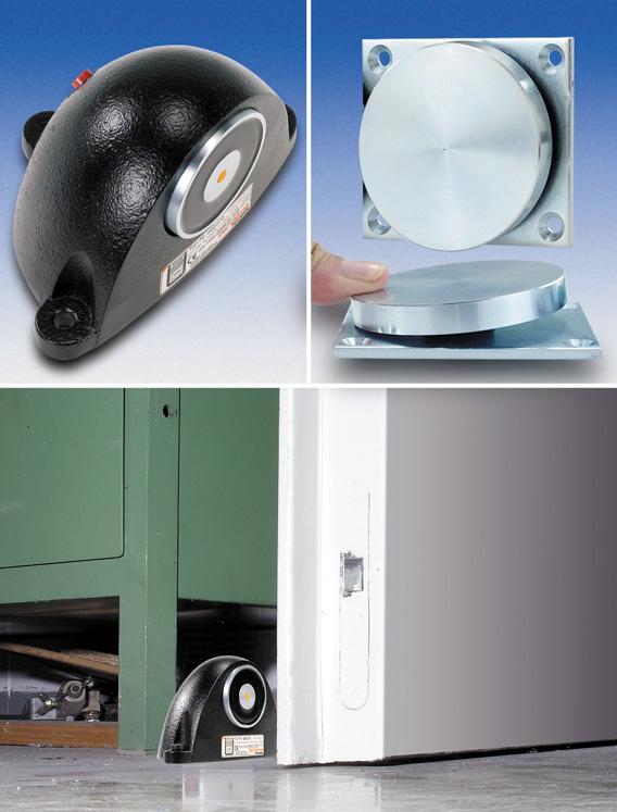 Brandschutz-Magnet mit Haftplatte - null