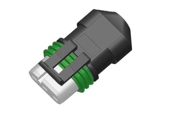 Connettore lineare per alimentazione elettrica pompe Grundfo -