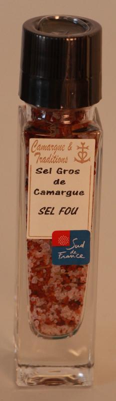 MOULIN RECHARGEABLE - SEL GROS DE CAMARGUE - SEL FOU - Epicerie salée