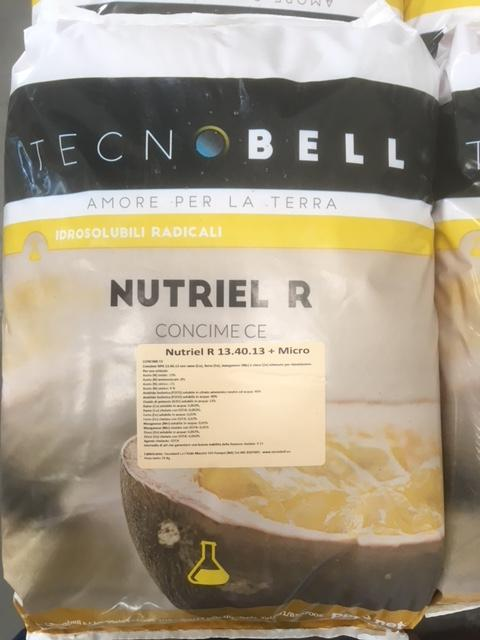 """Nutriel R"" - Water Soluble NPK for radical application"