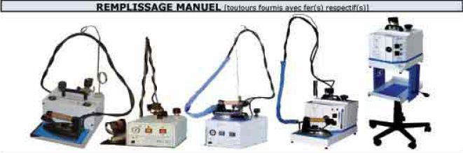 Générateurs remplissage manuel  - 1F42LP+Chariot