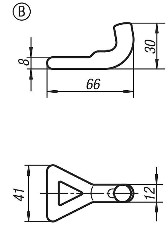 Flexibles Normteilesystem - Spannverschlüsse einstellbar schwere Ausführung
