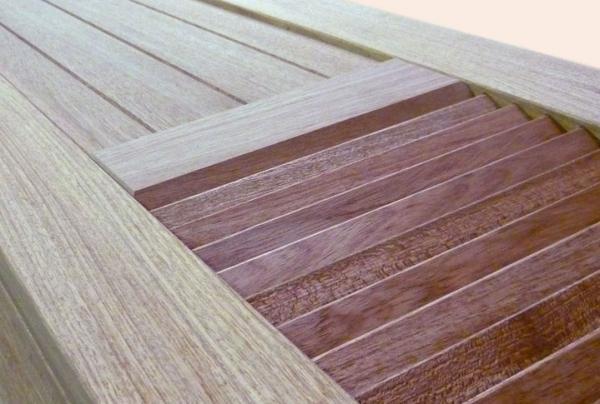 Persiennes mixtes en bois - null