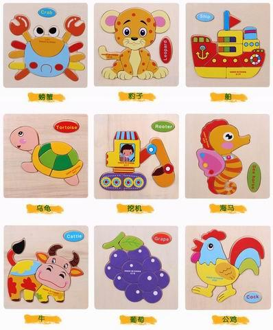 Hot Wooden Toys For Children Baby Kids Toys - Educational Toys