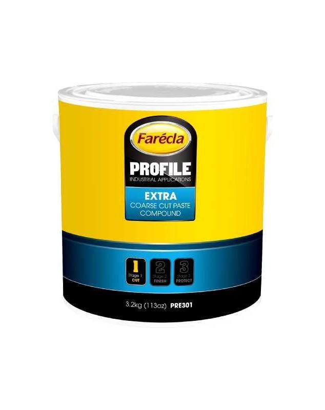 PROFILE EXTRA COARSE CUT PATE A POLIR POT DE 3.2KG - PATE A POLIR