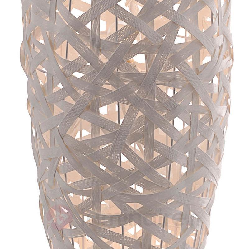 Lampadaire blanc Kaki en lacis synthétique - Tous les lampadaires
