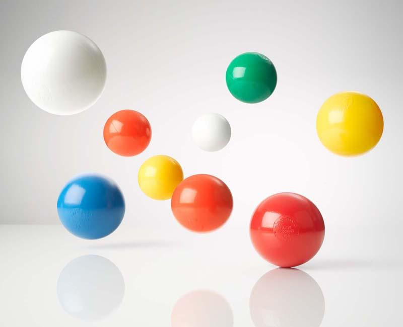 6 colour mix Playpen Balls - Professional Grade Playpen balls in our most popular colur mix, 75mm diameter
