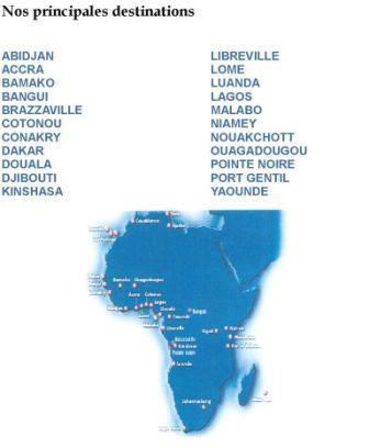 spécialiste du transport vers l'Afrique