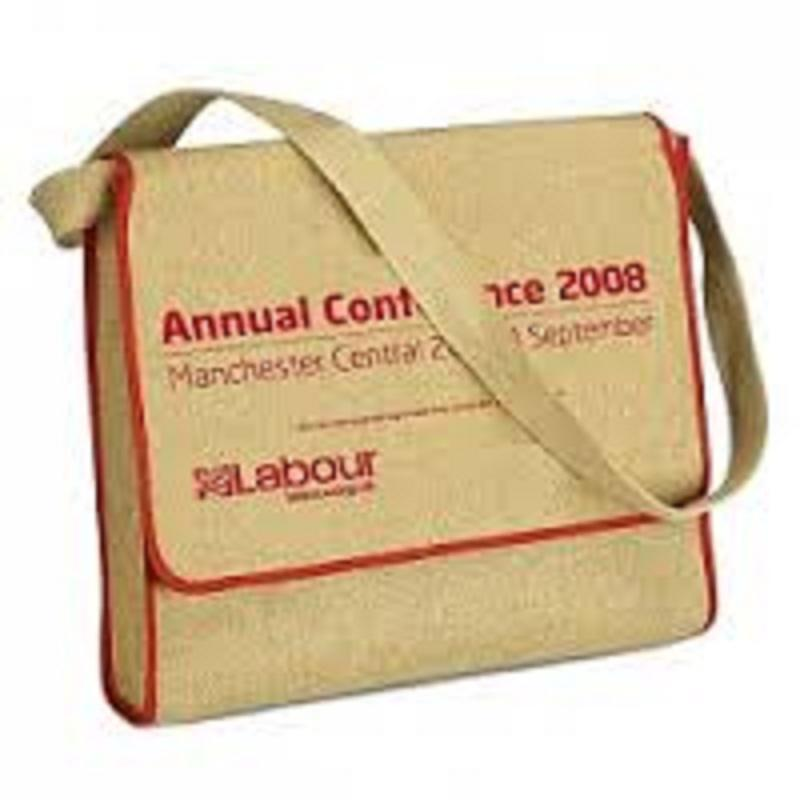 Personalized Conference Jute Bags