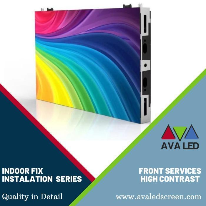8K - 4K - 适用于会议室的全高清 LED 屏幕 - AVA LED 迷你像素 LED 显示屏