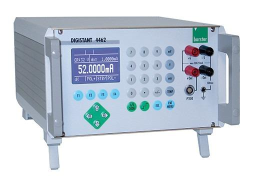 DIGISTANT® 4462 - High-precision calibration source for voltage, current and thermocouple