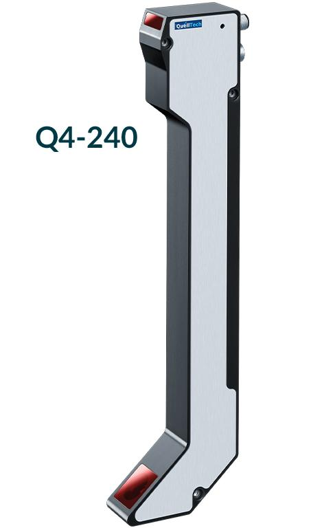 Laser sensor Q4 for 2D/3D applications - comprehensive selection of models for automatic contactless dimensional control