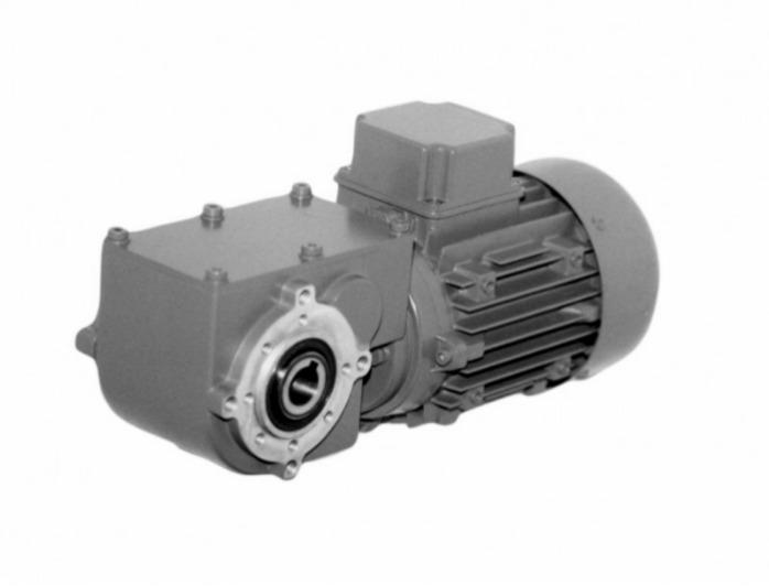 SN13FH - Zweistufiger Getriebemotor mit Hohlwelle