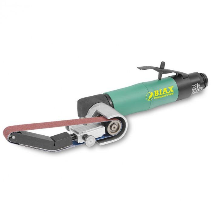 Belt sander - HBH 200 - The grinding arm can be swivelled by 360°. For belt widths of 8, 15 and 20 mm.