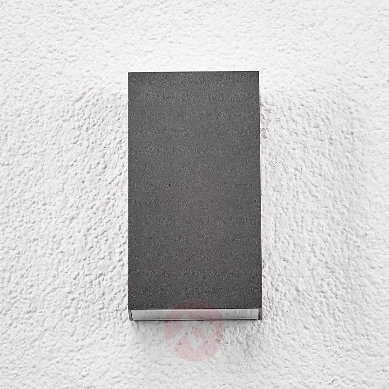 Square LED outdoor wall light Weerd - Outdoor Wall Lights
