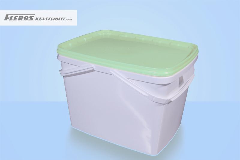 Rectangular buckets - FK-E 20.000 bucket, rectangular, PP