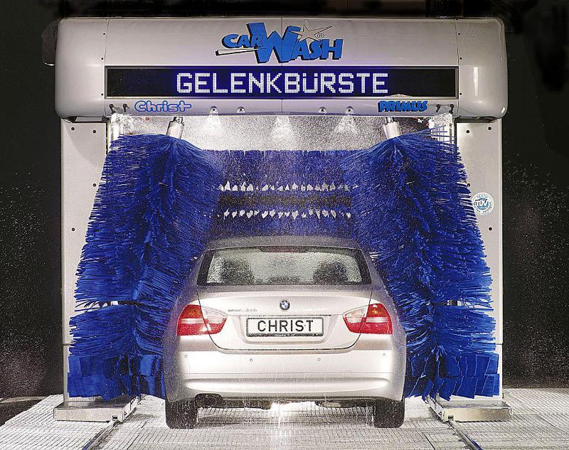 Car-Wash - Portique de lavage Christ Primus - Le meilleur de sa classe !